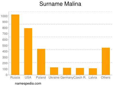 Surname Malina