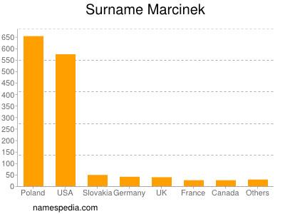 Surname Marcinek