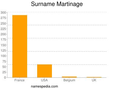 Familiennamen Martinage