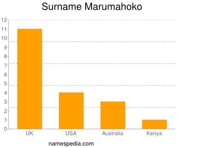 Surname Marumahoko