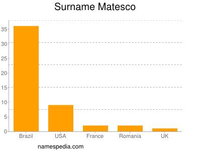 Surname Matesco