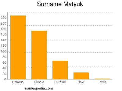 Familiennamen Matyuk