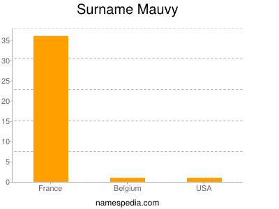 Surname Mauvy