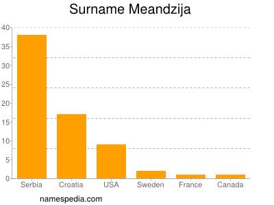 Surname Meandzija