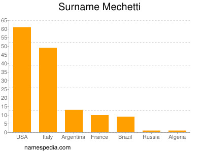 Surname Mechetti