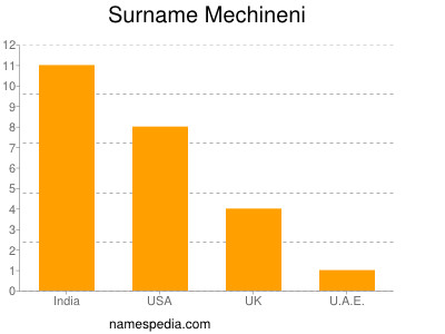 Surname Mechineni