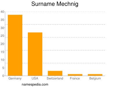 Surname Mechnig