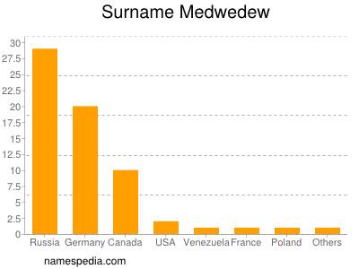 Surname Medwedew