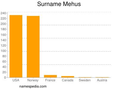 Surname Mehus