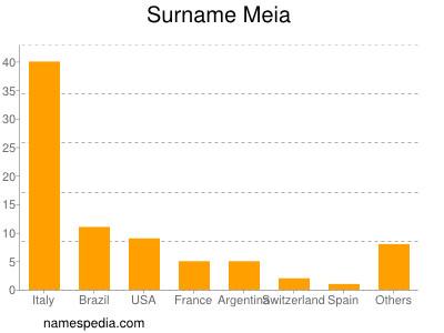 Familiennamen Meia