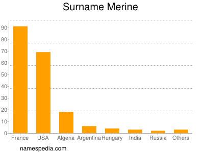 Surname Merine