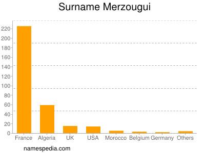 Surname Merzougui