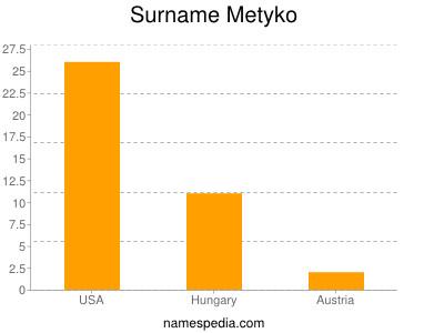 Surname Metyko