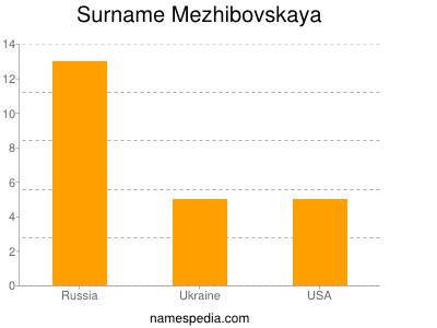 Familiennamen Mezhibovskaya