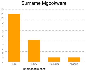 Surname Mgbokwere