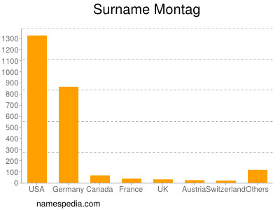 Surname Montag