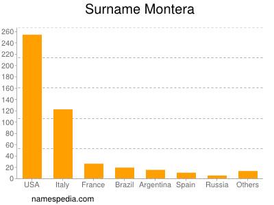 Surname Montera