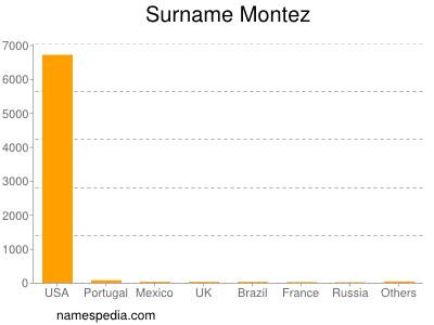 Familiennamen Montez