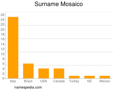 Surname Mosaico