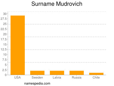 Surname Mudrovich