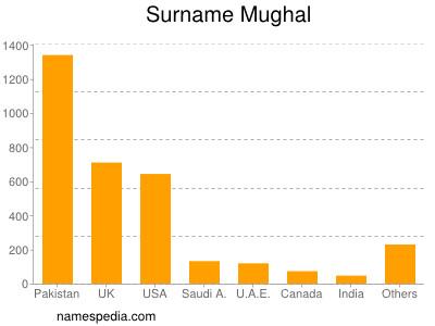 Surname Mughal