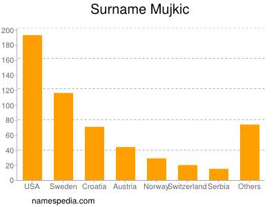 Surname Mujkic