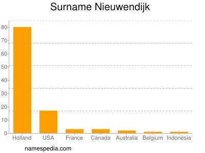 Surname Nieuwendijk