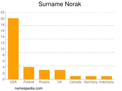 Familiennamen Norak