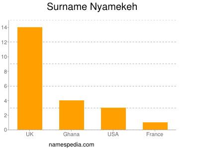 Surname Nyamekeh