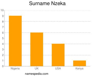 Familiennamen Nzeka