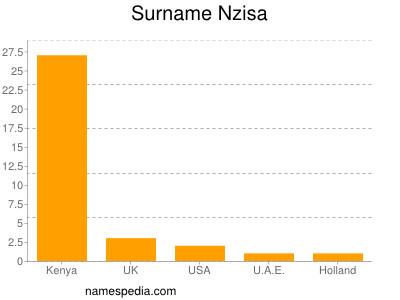 Familiennamen Nzisa