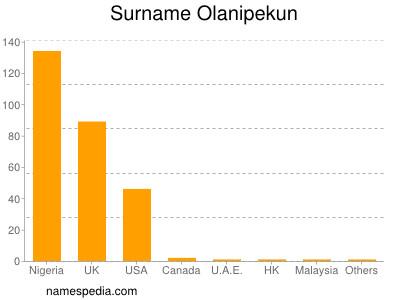 Surname Olanipekun