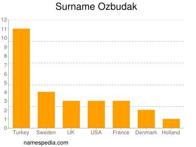 Surname Ozbudak
