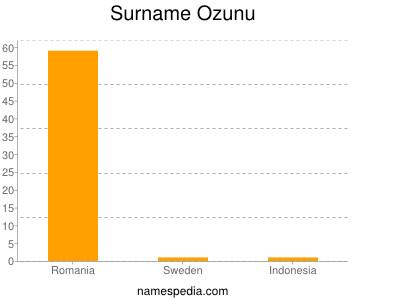 Surname Ozunu