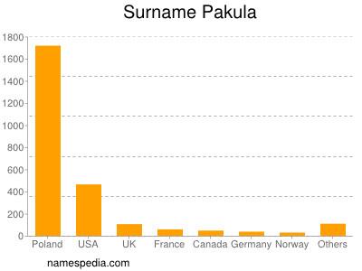 Surname Pakula