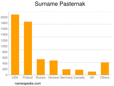 Surname Pasternak