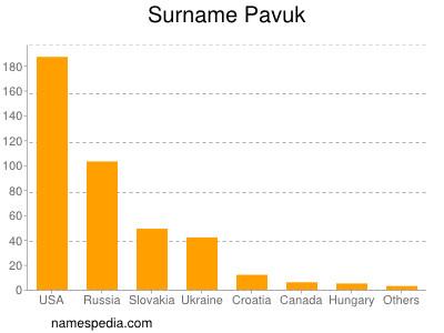 Surname Pavuk