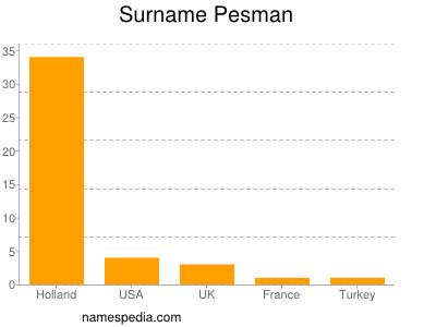 Surname Pesman