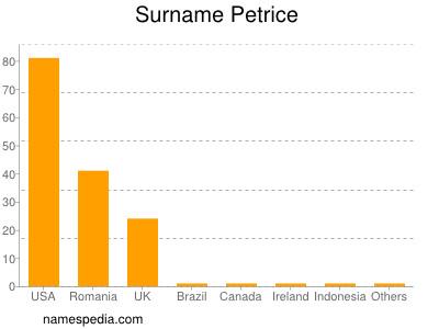 Surname Petrice