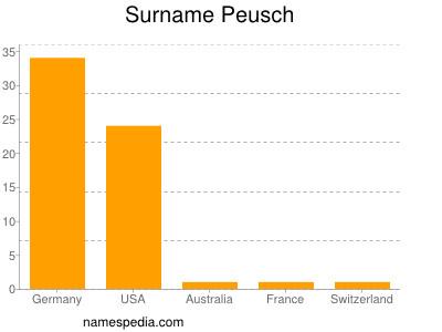 Surname Peusch