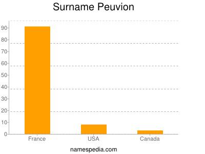 Surname Peuvion