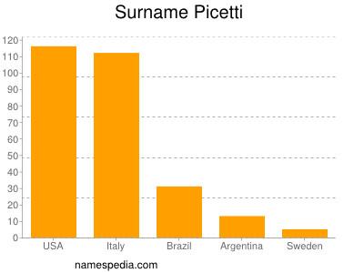 Surname Picetti