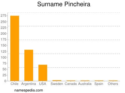 Surname Pincheira