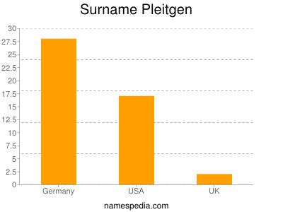 Surname Pleitgen