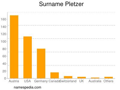 Surname Pletzer