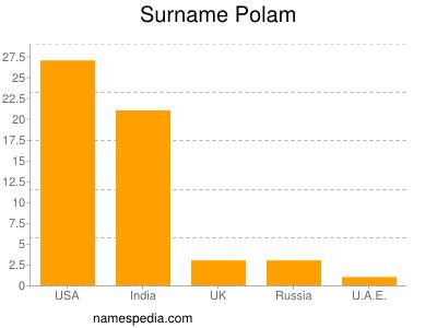 Surname Polam