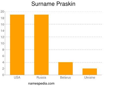 Familiennamen Praskin