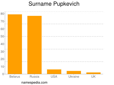 Surname Pupkevich
