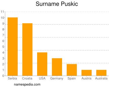 Surname Puskic