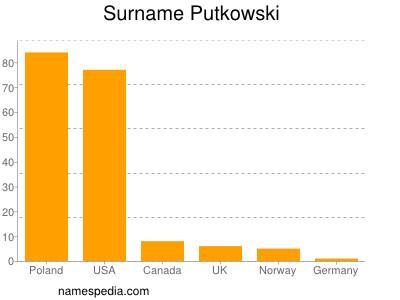 Surname Putkowski